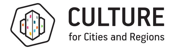 culture for cities and regions the project